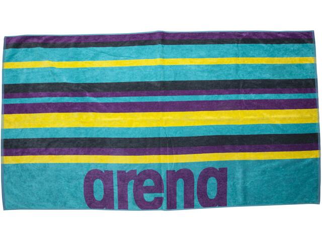 arena Beach Multistripes Toalla, Multicolor